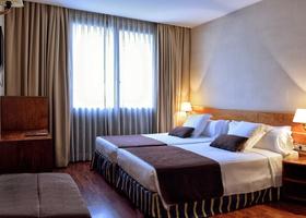 Habitación Hotel HLG CityPark Pelayo