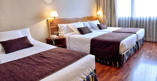 HABITACIÓN TRIPLE  ESTÁNDAR Hotel HLG CityPark Pelayo