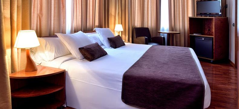 HABITACIÓN DOBLE CON VISTAS  Hotel HLG CityPark Pelayo